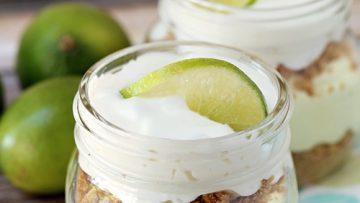 No-Bake-Key-Lime-Pie-In-A-Jar