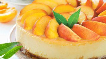 Peaches-'N%u2019-Cream-Cheesecake-Recipe