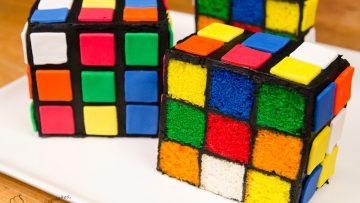 Rubik-s-Cube-Cake