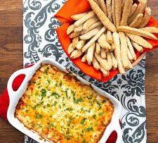 Sesame-Sticks-With-Garlic-Parmesan-Dip