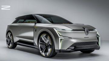 Renault Morphoz electric SUV concept