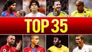 Top 35 Legendary Goals In Football History