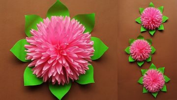 Learn-how-to-make-colorful-paper-flowers-at-home