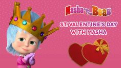 Masha-And-The-Bear-St.-Valentines-Day-with-Masha