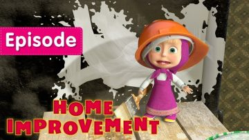 Masha-and-The-Bear-Home-Improvement-🏠-Episode-26