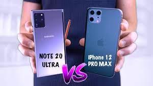 iPhone-12-Pro-Max-vs-Samsung-Galaxy-Note-20-Ultra
