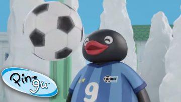 Pingu-Plays-Football